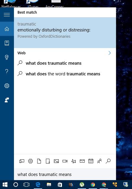 cortana - dictionary