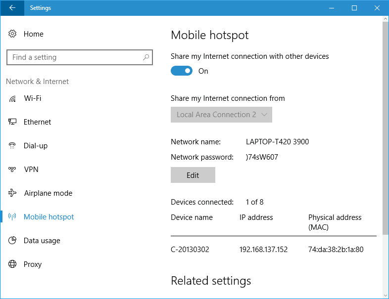 how to change from public to private wifi windows 10