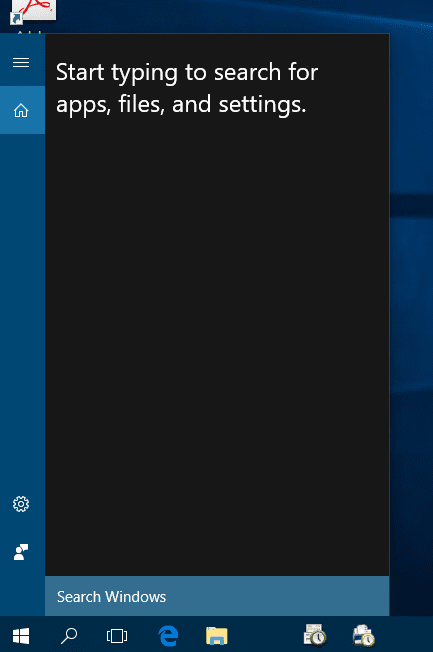 Windows 10 - Cortana disabled with simple prompt