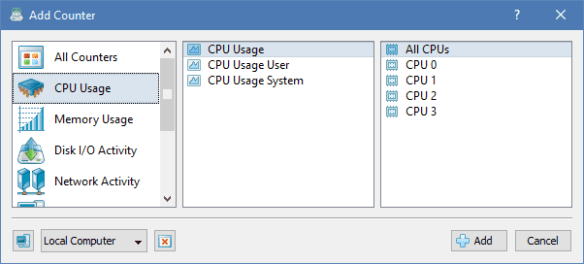 SysGauge Add Counter CPU 600x271 - SysGauge - A Free System and Performance Monitor