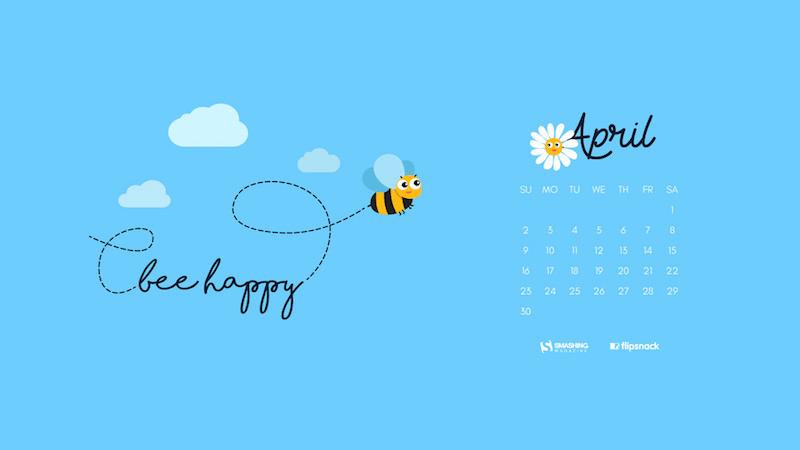 Download Smashing Magazine Desktop Wallpaper Calendar April 2017 Windows 7 8 10 Theme