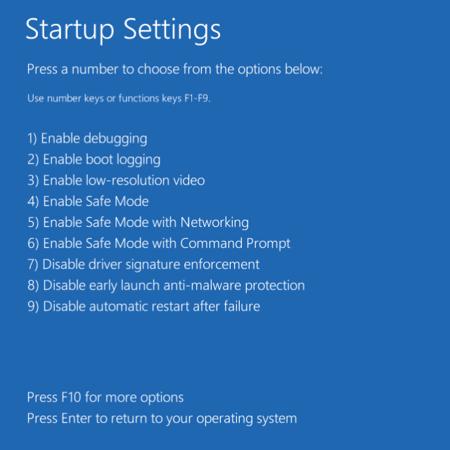 Windows 10 Advanced Startup Options - How To Boot To Advanced Startup Settings Automatically on Windows 10
