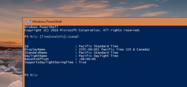 Windows PowerShell get time zone info - Windows 10 Tip: Where to Check and Set Time Zone on My Computer