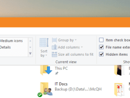 File Explorer - open Options