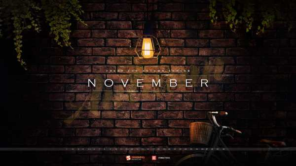 nov 17 autumn darkness full 600x337 - Download Smashing Magazine Desktop Wallpaper November 2017 Windows 7/8/10 Theme
