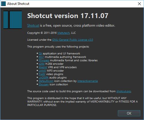 2017 11 20 2329 - Shotcut Is A Windows Movie Maker Alternative