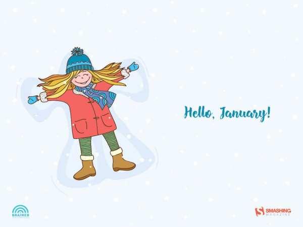 jan 17 angel in snow nocal full 600x450 - Download Smashing Magazine Desktop Wallpaper January 2018 Windows 7/8/10 Theme