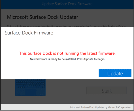 Surface Dock Updater - needs update