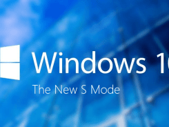 Windows 10 S Mode - Splash