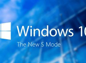 Windows 10 S Mode - Splash