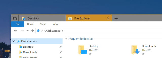 Tabs in File Explorer - How To Use New Tabs in File Explorer in Windows 10