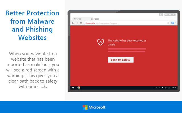 Windows Defender Chrome Plugin - Windows Defender Browser Protection for Chrome