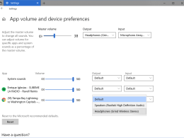 Windows 10 Tip: How To Set Up Audio Preferences Per App