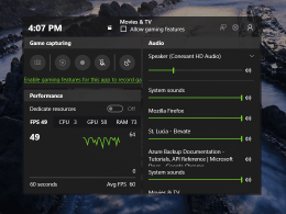 Windows 10 Tip: How To View Game Performance in Game Bar
