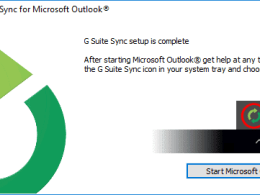 How To Use Outlook with G-Suite Account