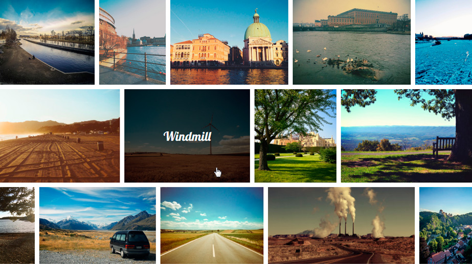 diseña tu página web con NextPage photo grid