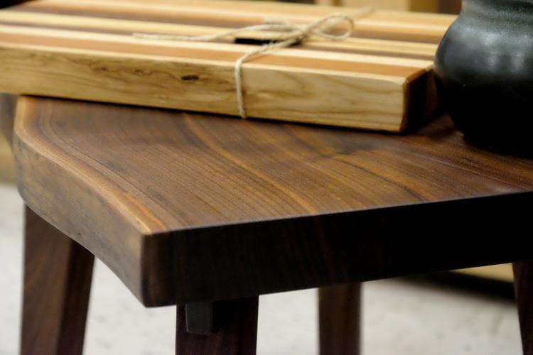 Jonathan Moran's wood creations. Photo by Brian Cohen.