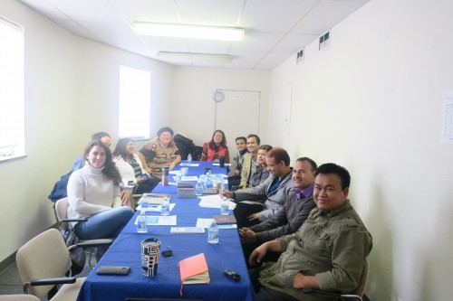 OPA meeting with Bhutanese Community Association of Pittsburgh. Photo courtesy OPA.