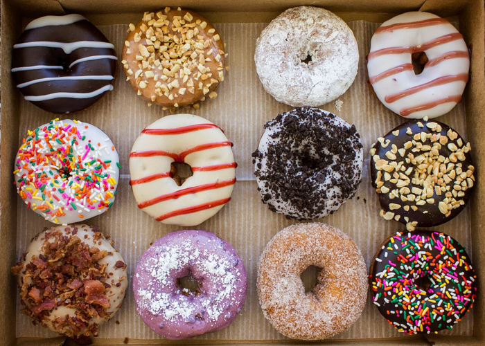 Duck Donuts' made-to-order creations. Photo by Duck Donuts.