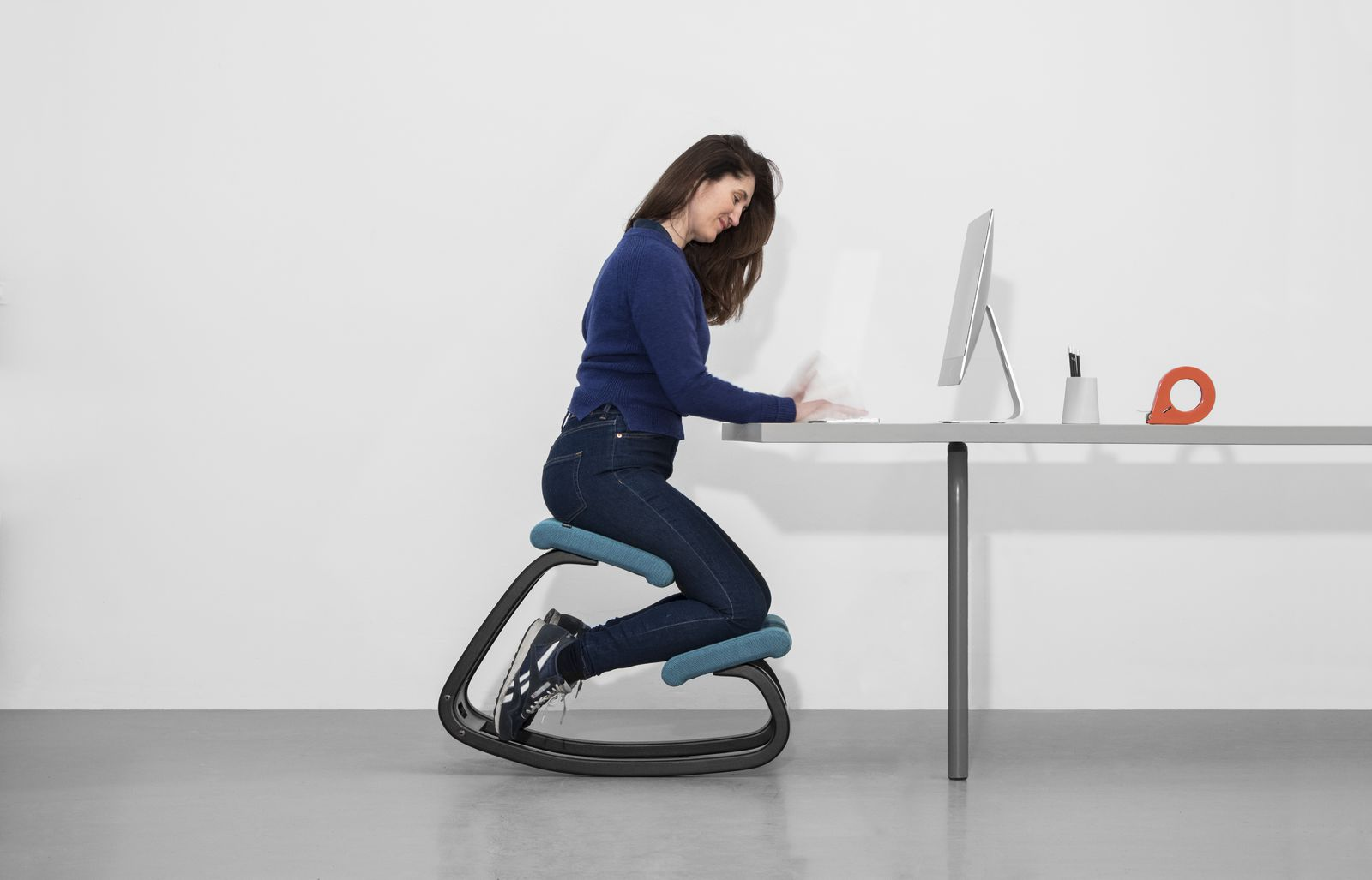 Ergonomic kneeling chair  Varier Variable balans  Get it