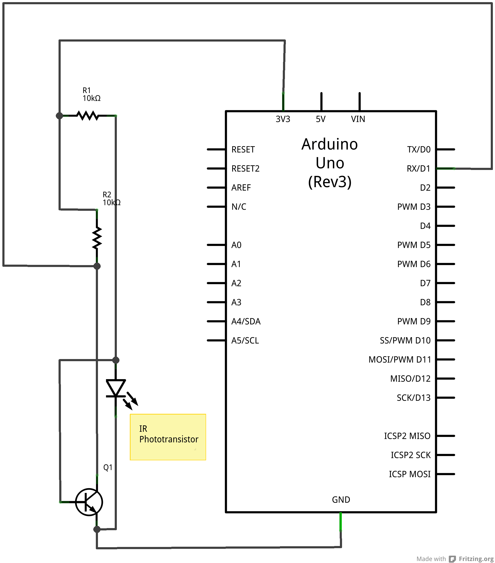 serial mouse schematic