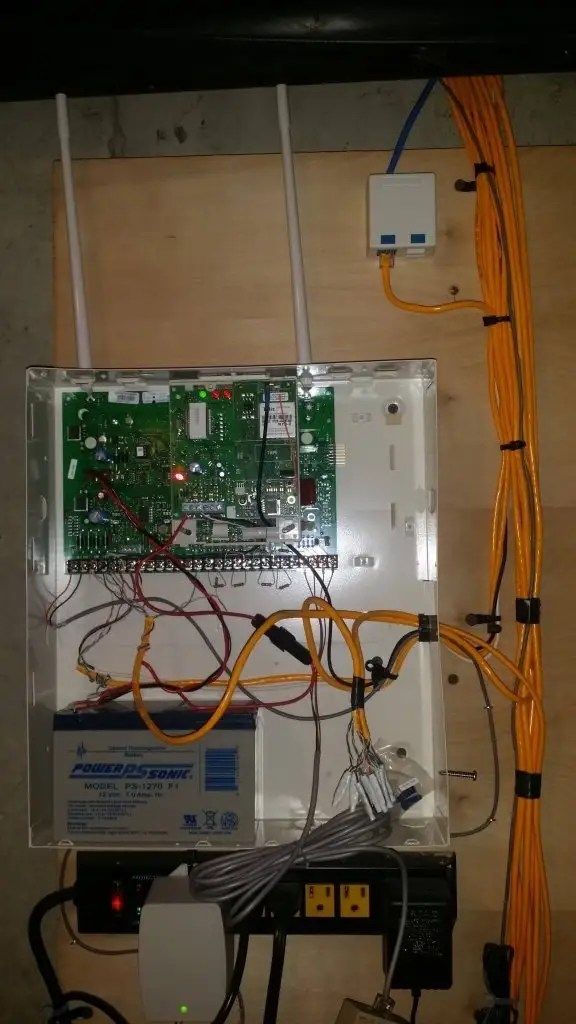 Alarm Security System Control Panel
