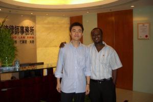 Ebow Brew Hammond Ghana 2009 Ghana School Of Law GSL Legal Internship In Shanghai 001