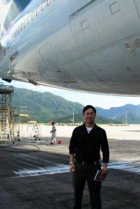 Jonathan Mak United Kingdom 2011 University Of Glasgow Mechanical Engineering Internship In Airlines And Aviation Industry 2