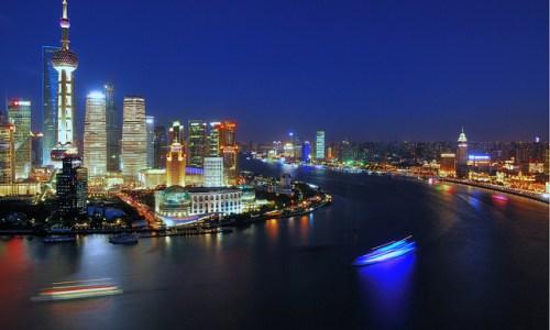 Shanghai Huangpu River The Bund Sightseeing Travel