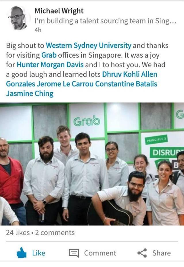 Western Sydney University Completed Innovation Short-Term Program In Singapore