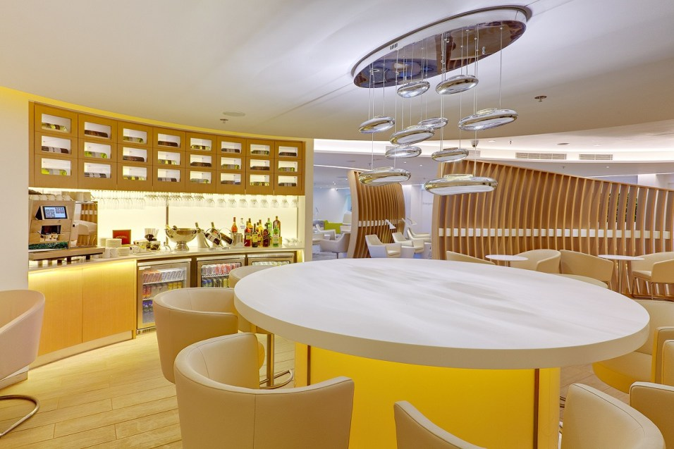 Skyteam lounge - Dining area