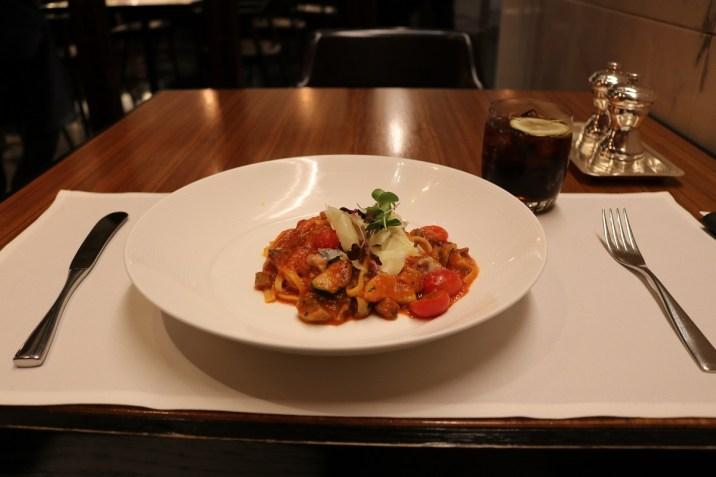 Pasta mushroom - A-la-carte restaurant