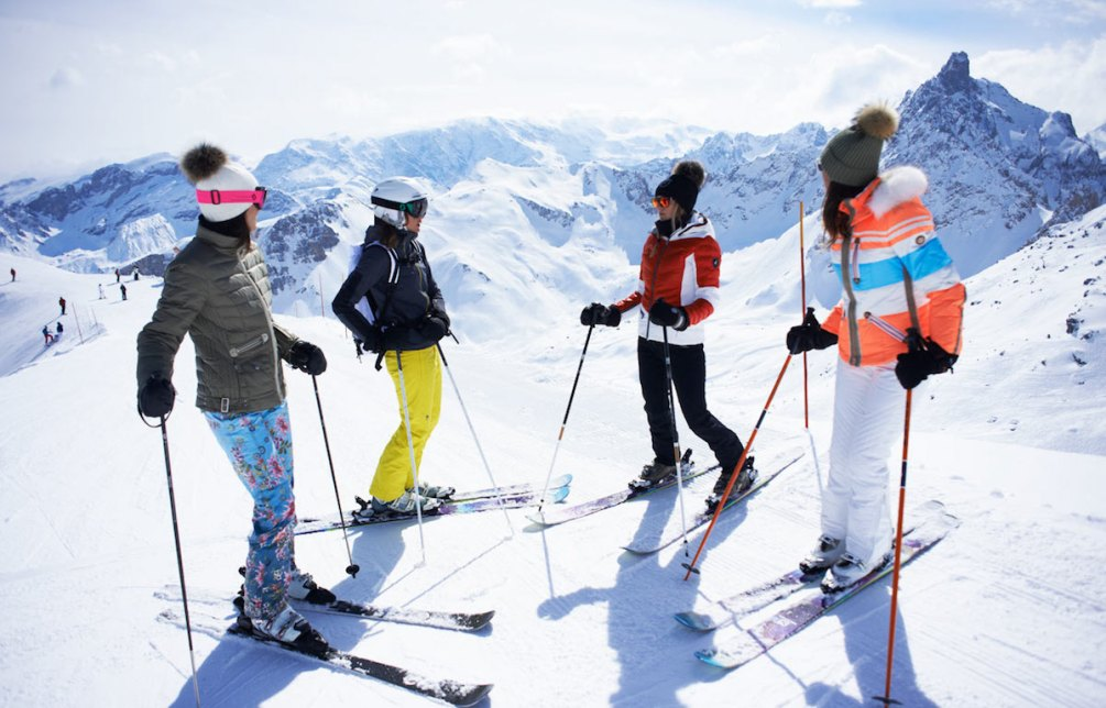 Courchevel with friends