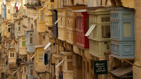 Valletta's streets