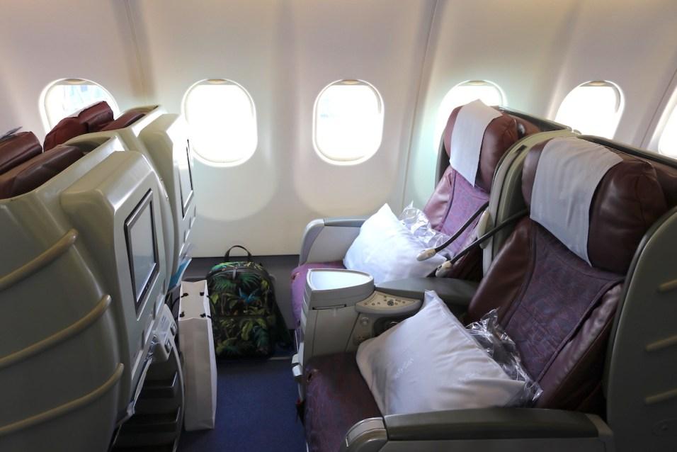 Business Class cabin