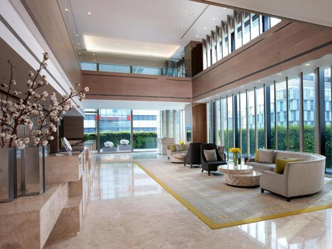 Humble House Taipei lobby