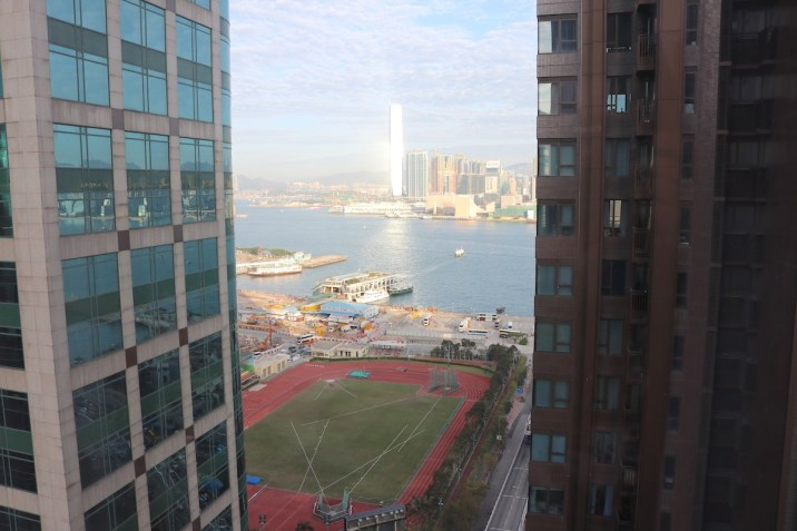 Half Moon room view over Victoria Harbour