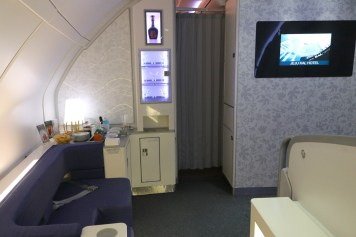 Prestige Class cabin - Relaxation area at the front