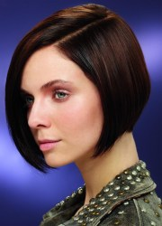 chin length bobs hair wig synthetic