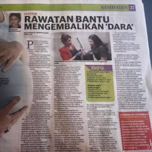 Berita Harian_Vaginal Tighten_Sept15