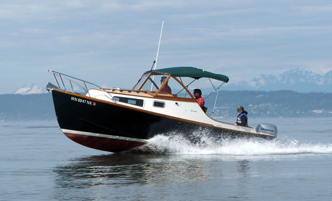 wood power boat plans