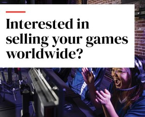 Interested in selling your games worldwide?