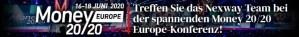 Treffen Sie das Nexway Team bei der spannenden Money 20/20 EUROPE-Konferenz