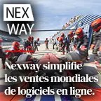 Nexway simplifie les ventes mondiales de logiciels en ligne.