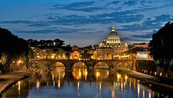 Rome-Tiber-Vatican-City