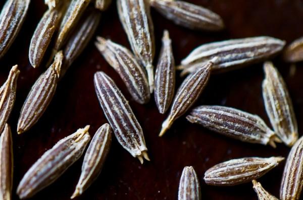 Cumin Seeds macro