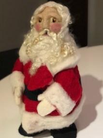Maria Wyzykowski _ Needle Felt Santa