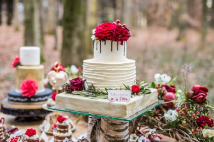 Schneewittchen Styled Shooting: Concept – Wedding Dreams Salzburg, Fotos – Ebihara Photography, Flowers – Lidwina Blumen, Papeterie – Tiwa Design, Story – Schöngeist