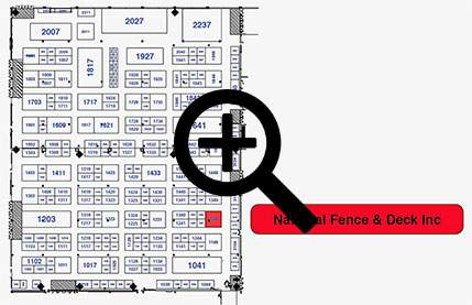 Calgary home and garden show exhibitor map