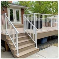 Custom Aluminum Picket Railings